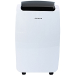 Portable Air Conditioner with Remote Control in White for Rooms up to 250-Sq. Ft. - AMAP081AW