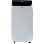 Portable Air Conditioner with Remote Control in White/Black for rooms up to 350-Sq. Ft. -AMAP121AB