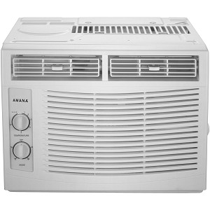 5,000 BTU 115V Window-Mounted Air Conditioner with Mechanical Controls - AMAP050BW